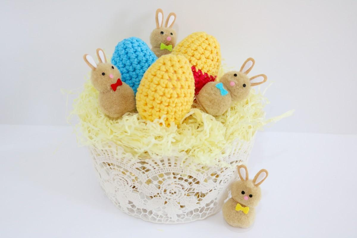 Crochet Easter Egg Pattern And Tutorial Bella Coco Crochet