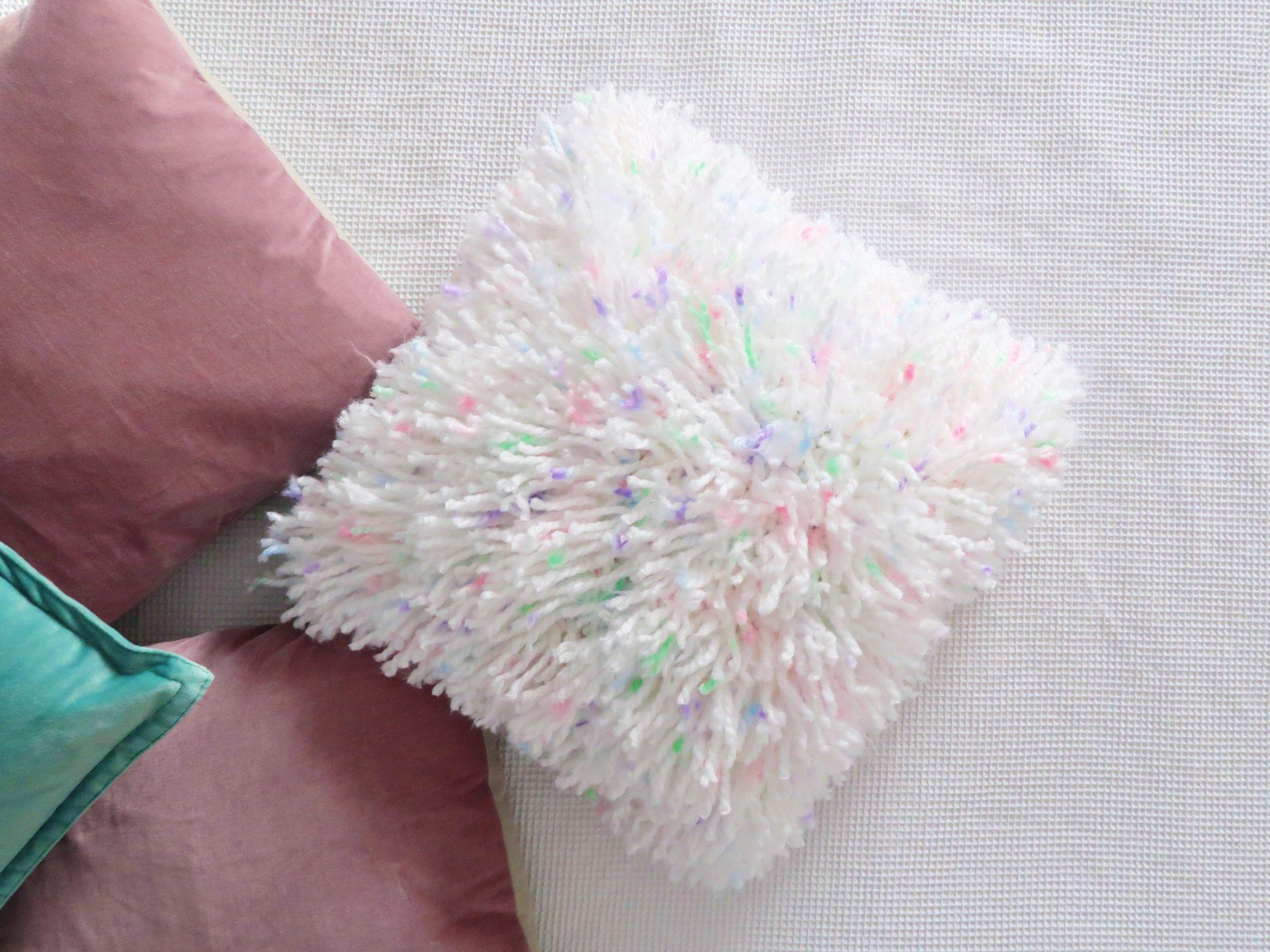 The Fluff Cushion | Guest post from Lindsey Newns of @lottieandalbert