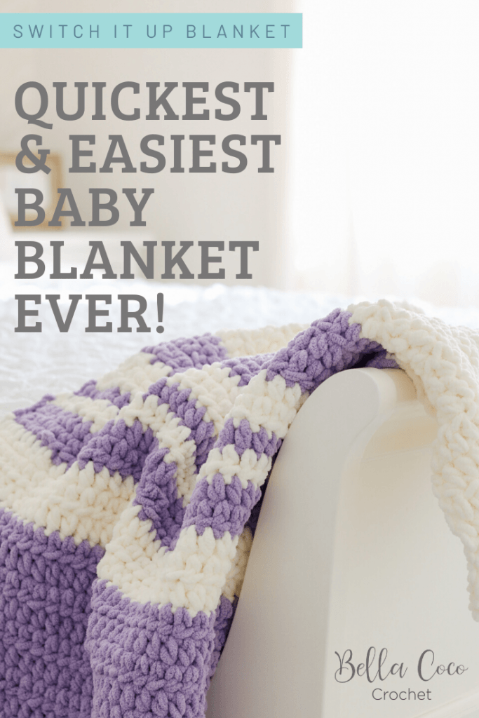 Easy And Fast Free Crochet Baby Blanket Pattern Bella Coco Crochet