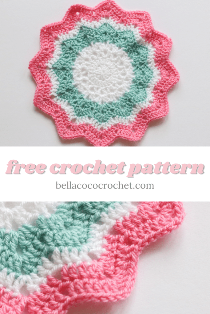 12 Point Star Blanket Bella Coco Crochet